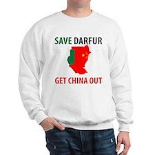 Get China Out! Sweatshirt