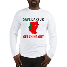 Get China Out! Long Sleeve T-Shirt