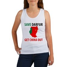 Get China Out! Women's Tank Top
