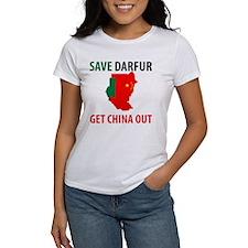 Get China Out! Women's T-Shirt