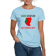 Get China Out! Women's Light T-Shirt