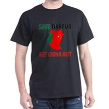 Get China Out! Dark T-Shirt
