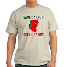 Get China Out! Light T-Shirt