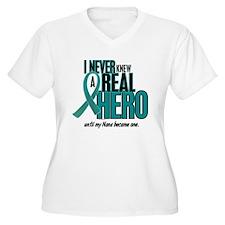 Never Knew A Hero 2 Teal (Nana) T-Shirt