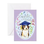 Beagle Graduate Greeting Card