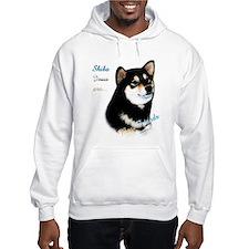 Black Shiba Best Friend 1 Hoodie