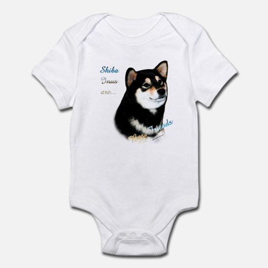 Black Shiba Best Friend 1 Infant Bodysuit
