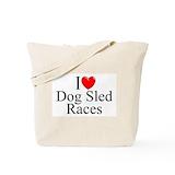 Siberian husky Bags & Totes