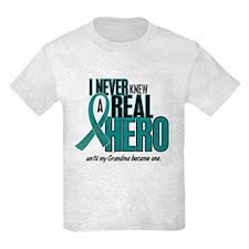 Never Knew A Hero 2 Teal (Grandma) T-Shirt