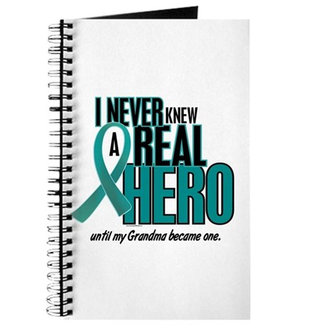 Never Knew A Hero 2 Teal (Grandma) Journal
