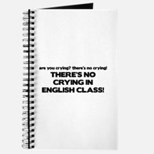 There's No Crying English Class Journal