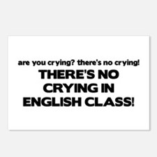 There's No Crying English Class Postcards (Package