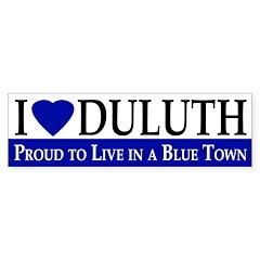 I Heart Duluth (bumper sticker)