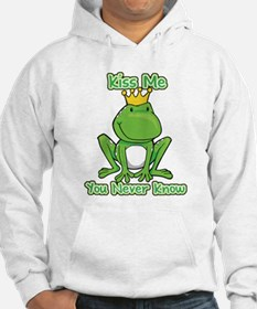 You Never Know Frog Hoodie