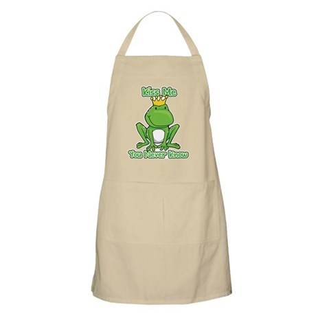 You Never Know Frog BBQ Apron