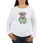 Dressed Up Cow Women's Long Sleeve T-Shirt