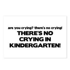 There's No Crying Kindergarten Postcards (Package
