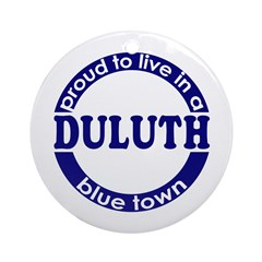 Duluth: Blue Town Holiday Ornament