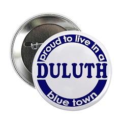 Duluth: Blue Town Button