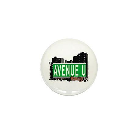 AVENUE U, BROOKLYN, NYC Mini Button (10 pack)