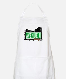 AVENUE U, BROOKLYN, NYC BBQ Apron