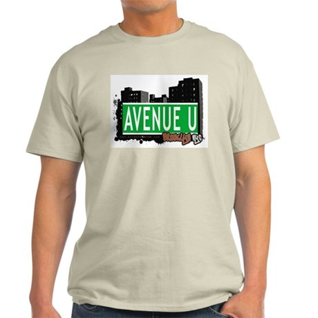 AVENUE U, BROOKLYN, NYC Light T-Shirt
