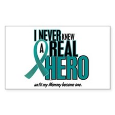 Never Knew A Hero 2 Teal (Mommy) Decal