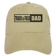 Track and Field Dad Baseball Cap