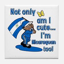 Not only am I cute I'm Nicaraguan too! Tile Coaste