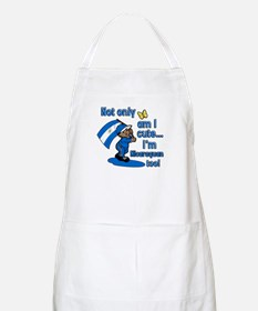 Not only am I cute I'm Nicaraguan too! BBQ Apron