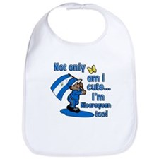 Not only am I cute I'm Nicaraguan too! Bib