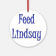 Feed Lindsay 3 Keepsake (Round)
