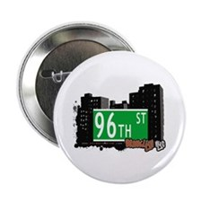 """96th STREET, BROOKLYN, NYC 2.25"""" Button (10 pack)"""