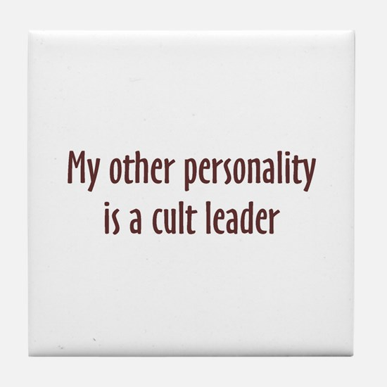 OP Cult Leader Tile Coaster