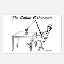 The Gefilte Fisherman Postcards (Package of 8)