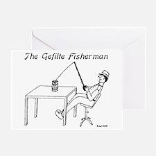 The Gefilte Fisherman Greeting Card