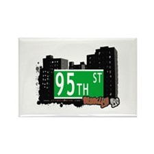 95th STREET, BROOKLYN, NYC Rectangle Magnet
