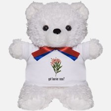 Laurier Rose Teddy Bear