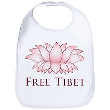 Lotus Free Tibet Bib