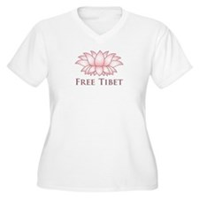 Lotus Free Tibet T-Shirt