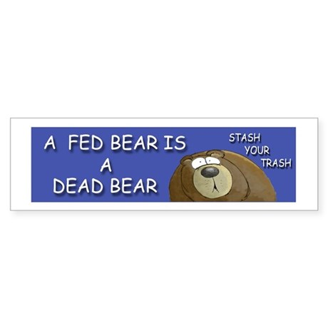BEAR Sticker (Bumper)