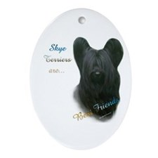 Skye Best Friend 1 Oval Ornament