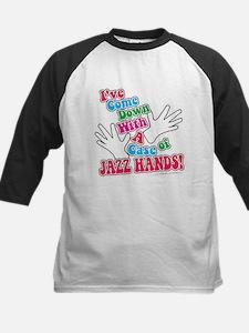Jazz Hands! Kids Baseball Jersey