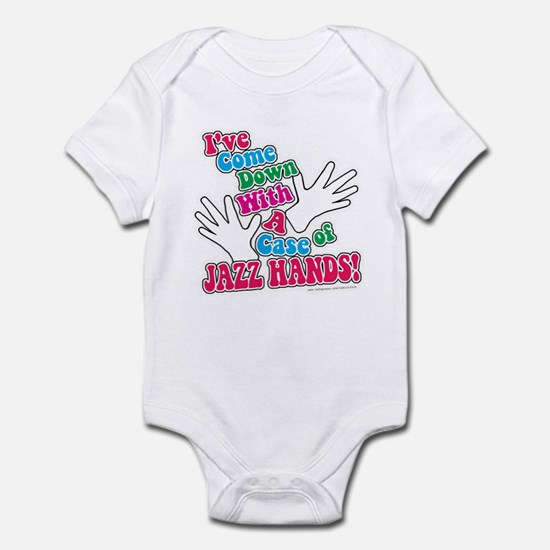 Jazz Hands! Infant Bodysuit