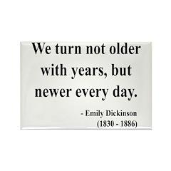 Emily Dickinson 15 Rectangle Magnet (10 pack)