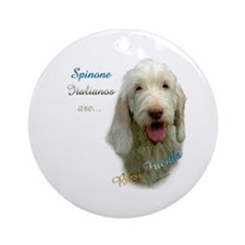 Spinone Best Friend 1 Ornament (Round)