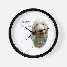 Spinone Best Friend 1 Wall Clock