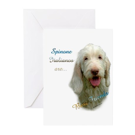 Spinone Best Friend 1 Greeting Cards (Pk of 20)