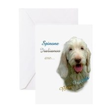 Spinone Best Friend 1 Greeting Card