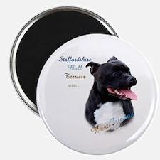 Staffy Best Friend 1 Magnet